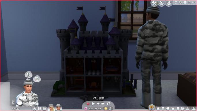 Realistic Princess Doll Castle
